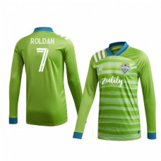 Youth Cristian Roldan Authentic Jersey Seattle Sounders FC Home 2020/21