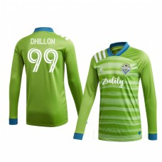 Youth Justin Dhillon Authentic Jersey Seattle Sounders FC Home 2020/21