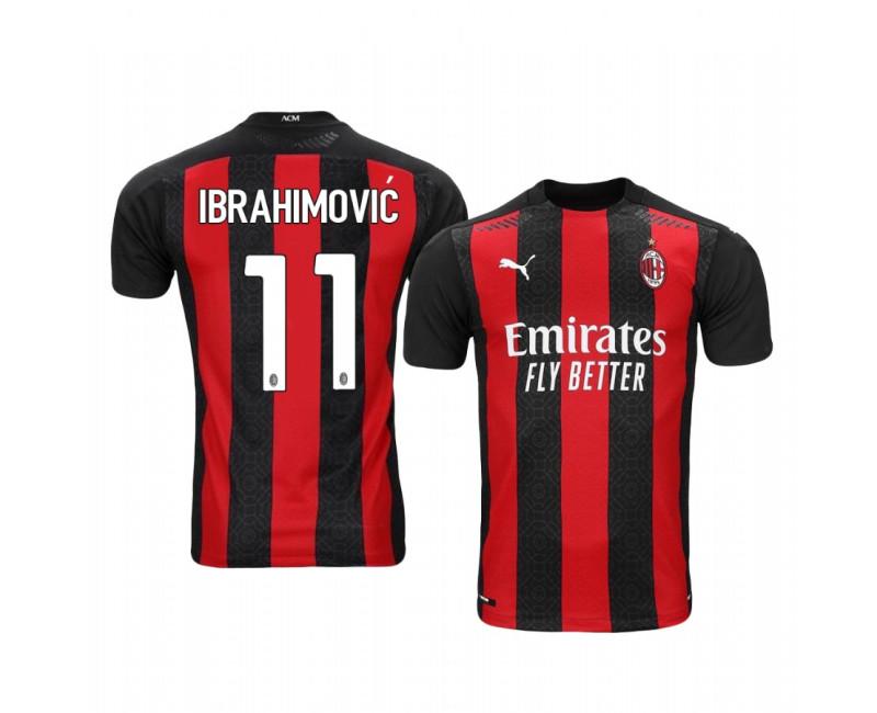 Zlatan Ibrahimovic Replica Jersey AC Milan Home 2020-2021
