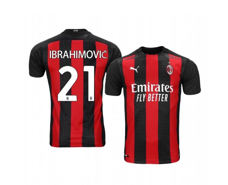 Zlatan Ibrahimovic Authentic Jersey Sweden Home 2020/21
