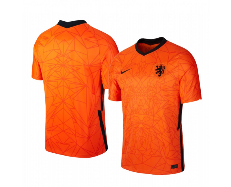 Youth Netherlands National Team Authentic Jersey 2020/21 Home Breathe