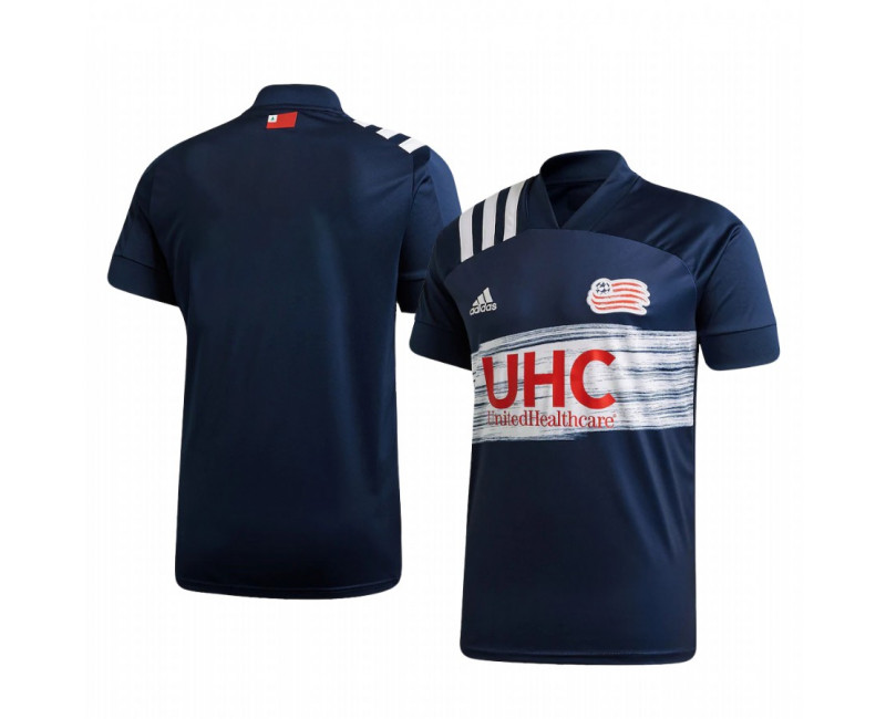 Youth New England Revolution Replica Jersey 2020/21 Home Short Sleeve