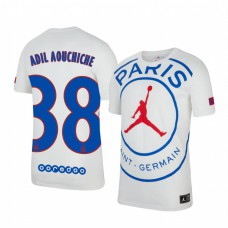 Youth Adil Aouchiche Paris Saint-Germain Authentic Jersey Game 2020/21