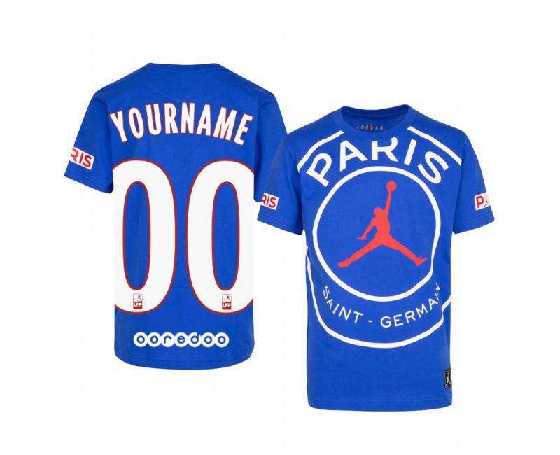 Custom Paris Saint-Germain T-Shirt Game 2020/21