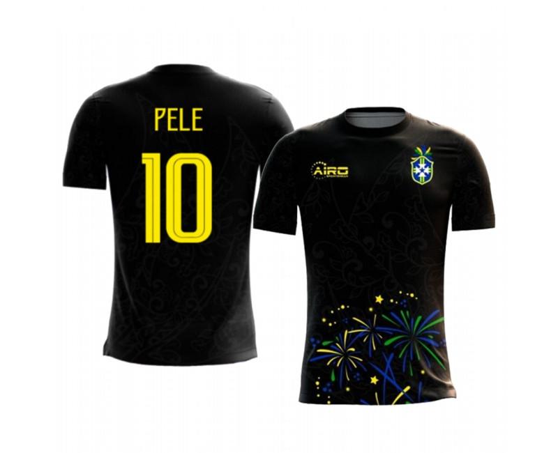 Youth Pele Replica Jersey Brazil 2020/21 Third