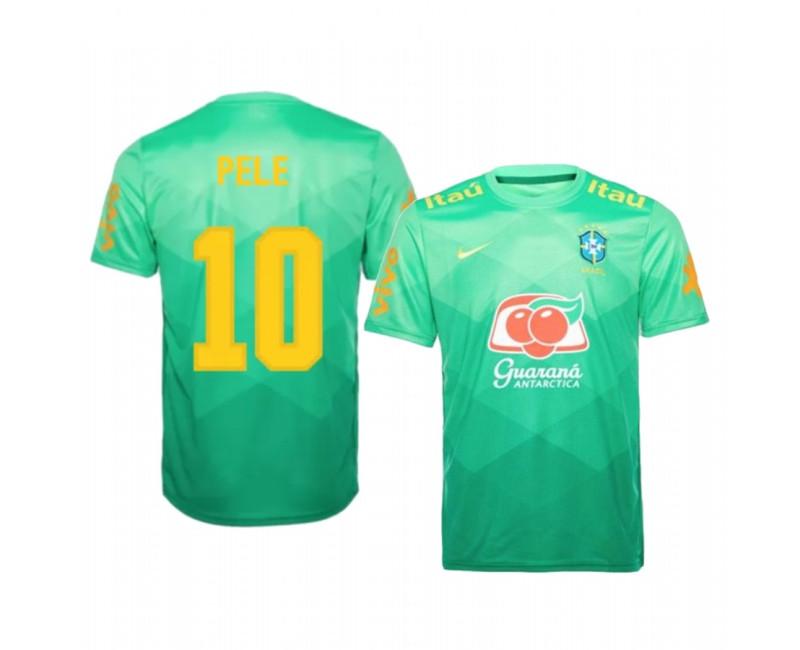 Youth Pele Authentic Jersey Brazil 2020/21 Pre-Match