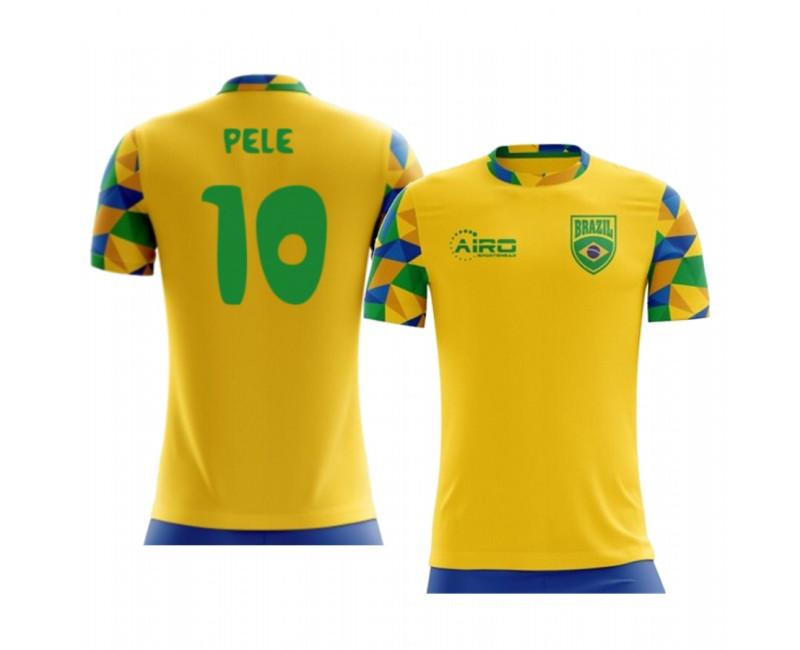 Youth Pele Replica Jersey Brazil 2020/21 Home Kid's