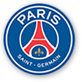paris saint germain football club shop logo
